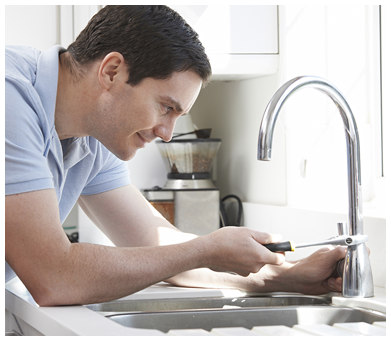Plumber Fixing Faucet in Raleigh, NC